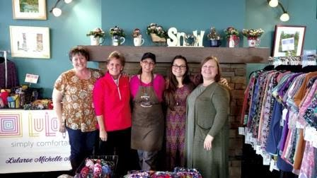 The team at the LuLaRoe Brewed Awakenings Fundraiser